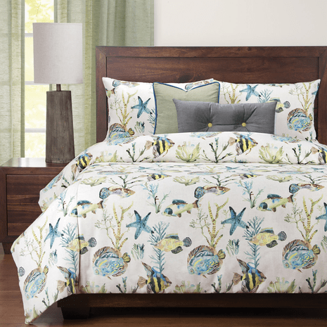 Sea Breeze Duvet Set - Cal King