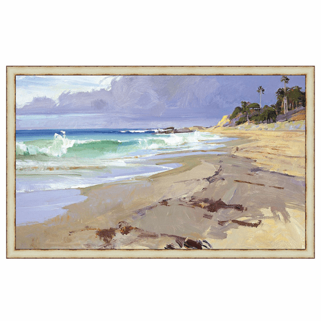 Sea Breeze Framed Canvas