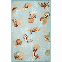Sea Dreams Coral Rug Collection