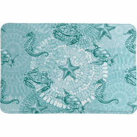 Sea Dwellers Memory Foam Rug