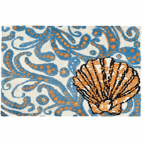 Sea Filigree Accent Rug