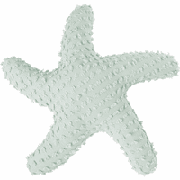 Sea Glass 3-D Starfish Pillow - OUT OF STOCK