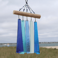 Glass & Driftwood Wind Chime