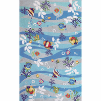 Sea Jewels Tropical Fish Rug Collection