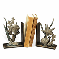 Sea Life Bookends - Set of 2