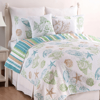 Sea Life Quilt Set - Twin