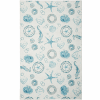 Sea Life Splash Rug Collection
