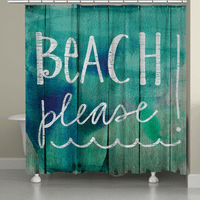 Sea Please Shower Curtain