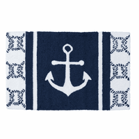 Sea Port Anchor Parfait Rug - OVERSTOCK
