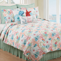 Sea Reef Quilt Bedding Collection