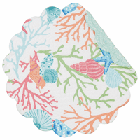 Sea Reef Round Placemats - Set of 6
