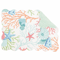 Sea Reef Scalloped Placemats - Set of 6