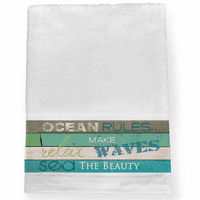 Sea Rules Bath Towel