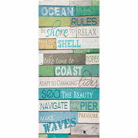 Sea Rules Beach Towel