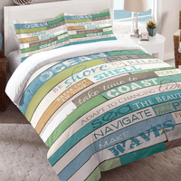 Sea Rules Comforter - Queen - CLEARANCE