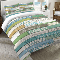 Sea Rules Duvet Covers