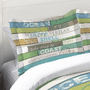Sea Rules Duvet Sham