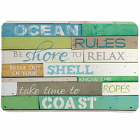 Sea Rules Memory Foam Mat - OVERSTOCK