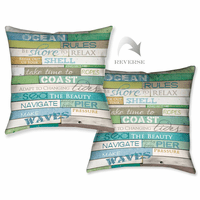 Sea Rules Pillow