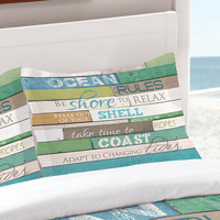 Sea Rules Standard Sham - OVERSTOCK