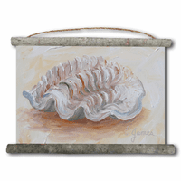 Sea Shell 1 Canvas Wall Scroll