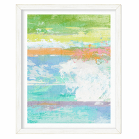 Sea Splash I Framed Print