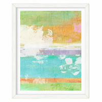 Sea Splash II Framed Print