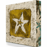 Sea Star Aluminum Box Wall Art