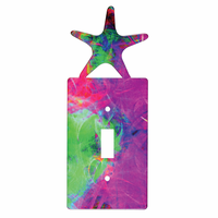 Sea Star Metal Switch Covers