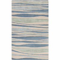 Sea Stripes Slate Rug Collection