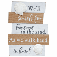 Sea Treasures Wood Wall Art