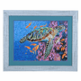 Sea Turtle and Coral Framed Art