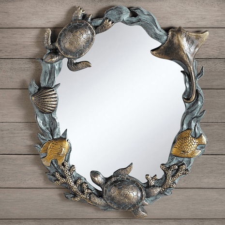Sea Turtle Cove Wall Mirror