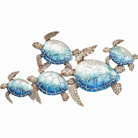 Sea Turtle Family Wall Art