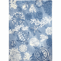 Sea Turtle Navigator Indoor/Outdoor Rug Collection