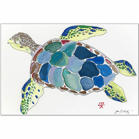 Sea Turtle Placemats - Set of 4