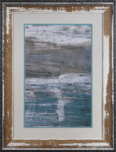 Sea Wall II Framed Art