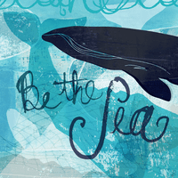 Sea Whale Canvas Art
