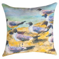 Seabird Beach Pillow