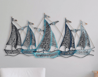 Seafarers Sailboat Wall Art