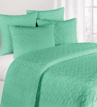 Seafoam Mara Quilt Bedding Collection