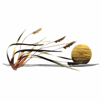 Seagrass Breeze Wall Art