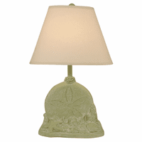 Seagrass Sand Dollar with Shells Accent Lamp