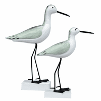 Seagull Pair Statuaries - Set of 2