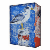 Seagull Profile Aluminum Box Wall Art