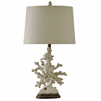 Seahorse Among Coral Table Lamp