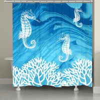 Seahorse Dream Shower Curtain
