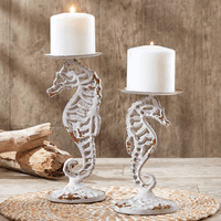 Seahorse Pillar Candle Holders