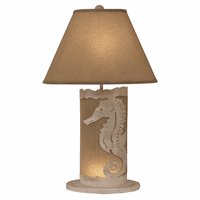 Seahorse Table Lamp with Nightlight