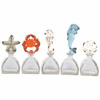 Sealife Glass Jars - Set of 5